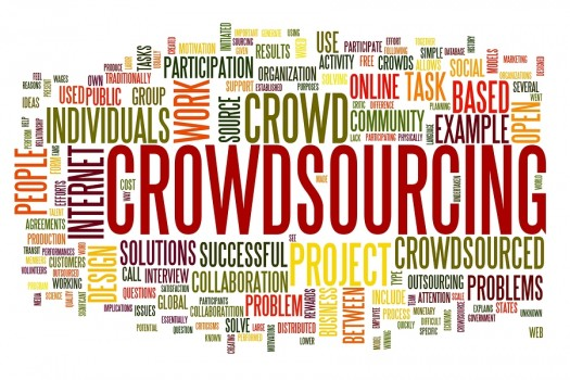 Crowdsourcing Tag Cloud with the most used words